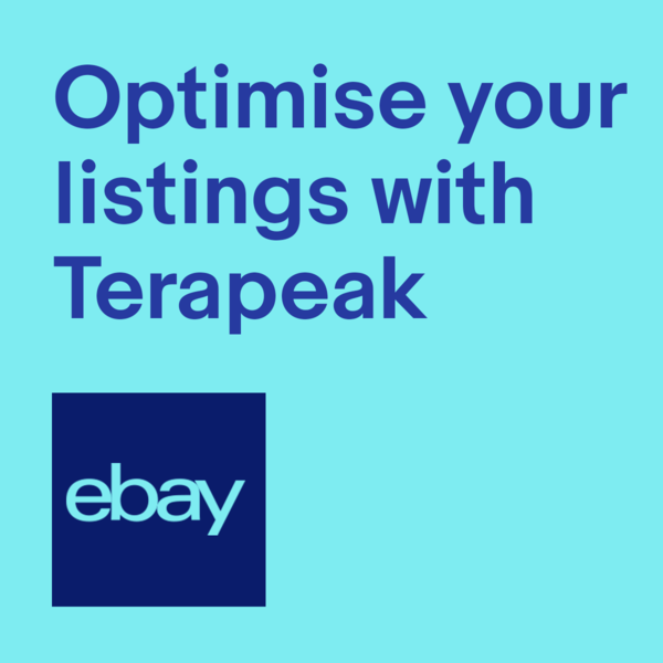 Optimise and review your listings with Terapeak