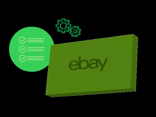 colis eBay et symboles liste et outils eBay