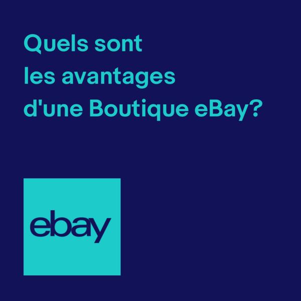 Quels sont les avantages d'une Boutique eBay ?