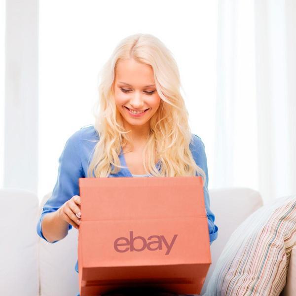 eBay-Verkäuferin