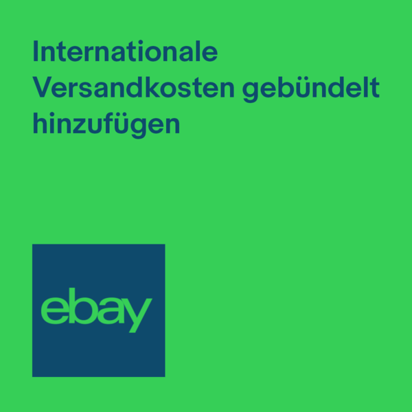Thumbnail: Gebündelt internationale Versandkosten