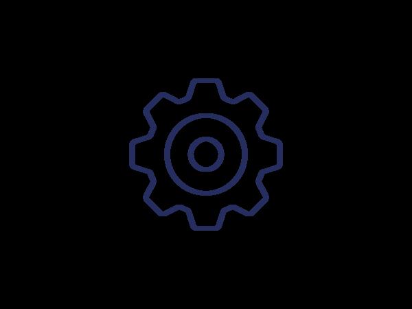 Icon Automatisierung oder Einstellungen