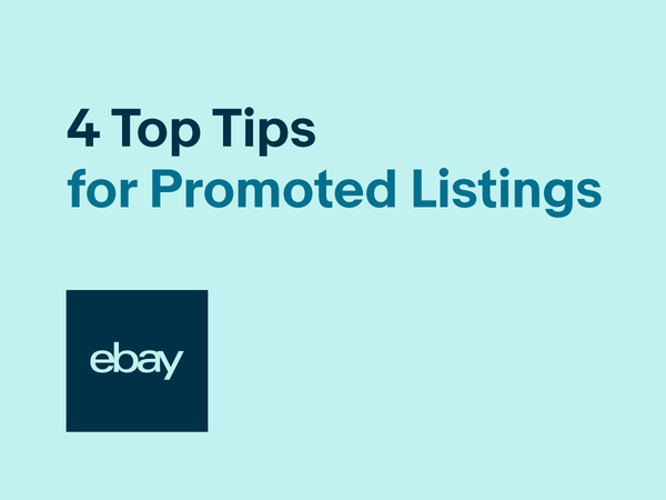 Four top tips for Promoted Listings