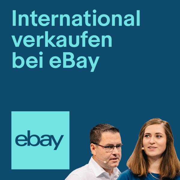 eBay-Experten halten einen Vortrag